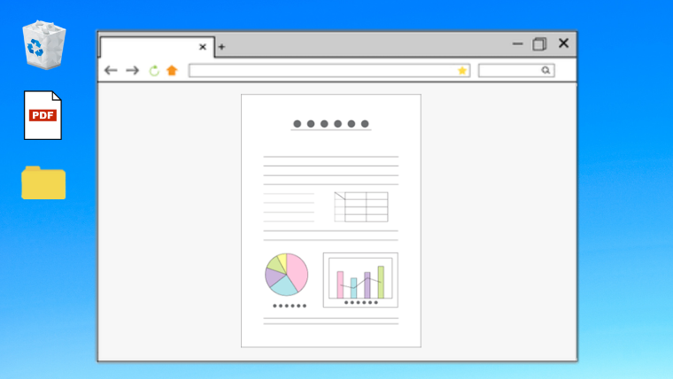 PDFがネットで開いてしまう場合の対処方法。(Windows10)
